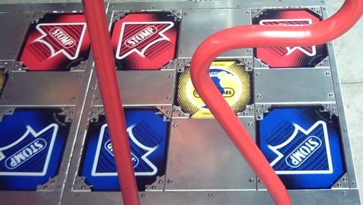 Desktop pump pista